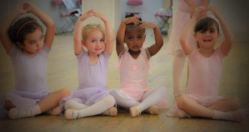 Pre-primary school ballet classes at Ensemble Ballet Studio